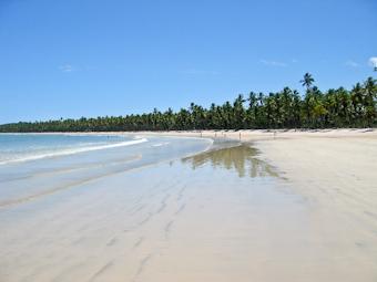 Tredje stranden på Morro de Sao Paulo